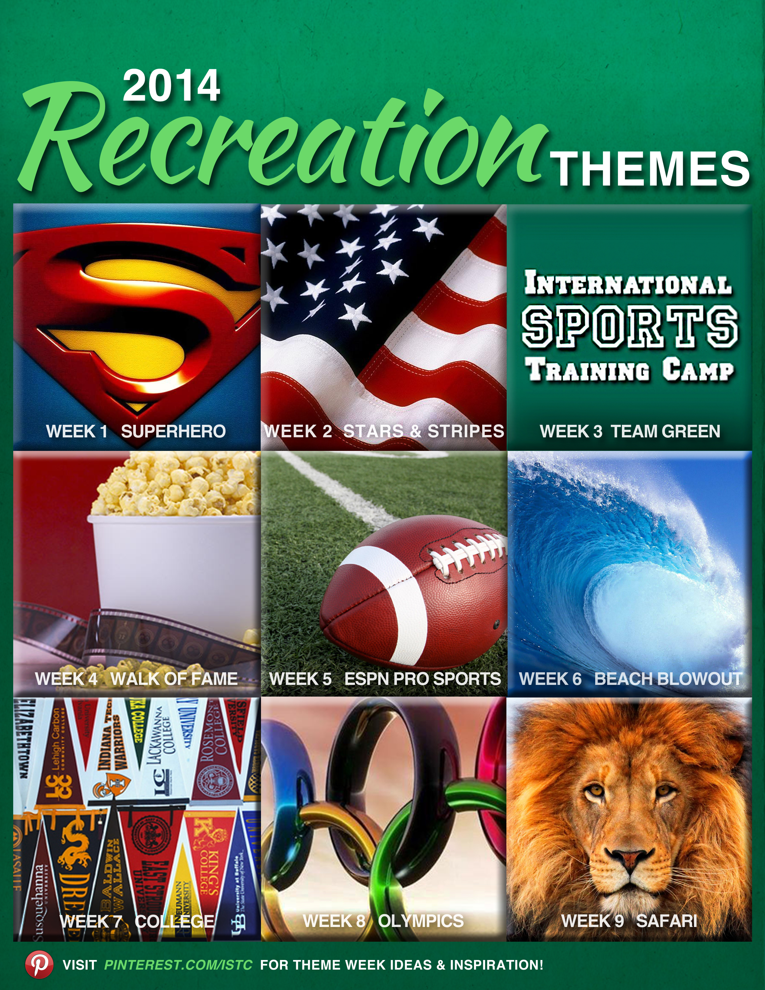 International Sports Training Camp » Blog Archive 2014 Rec Themes ...