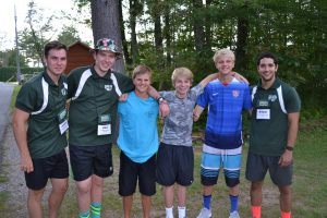 summer campers and staff at ISTC